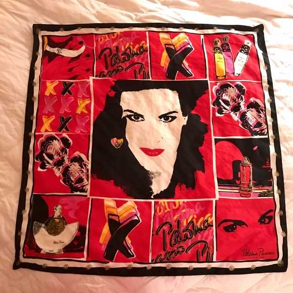Paloma Picasso Accessories - Paloma Picasso by Andy Warhol